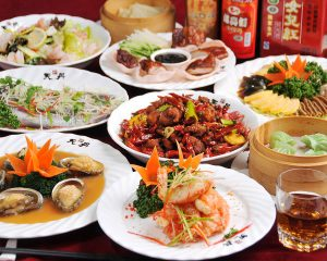 天丹の中華・四川料理コース